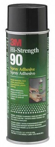 Ounce Aerosol Can Hi-Strength 90 Spray Adhesive [Set of 12] by 3M