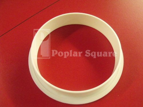 100 White Finishing Grommet #1047WH by Bmi (Image #1)