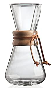 Chemex 3-Cup Classic Glass Coffee Maker