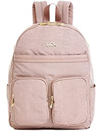 Womens Tina Large Laptop Backpack One Size Antique Rose Combo