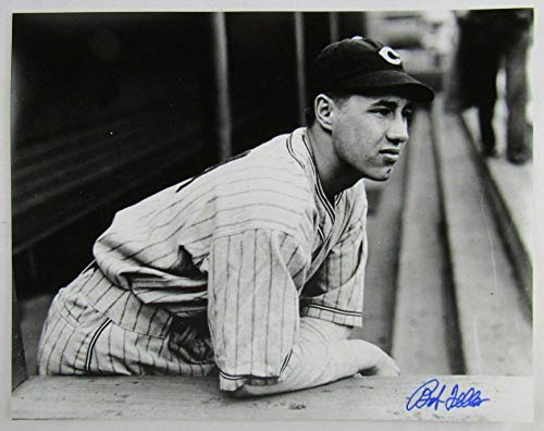 Signed Bob Feller Photograph - 11x14 I - Autographed MLB Photos