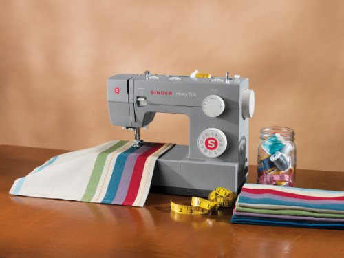 Singer Sewing 4432 Heavy get the job done Extra high performance Sewing piece of equipment with Metal Frame and Stainless stee Bedplate property Kitchen Features