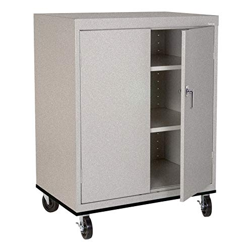 Sandusky Lee TA21362442-MG Transport Series Work Height Storage Cabinet, Multi Granite
