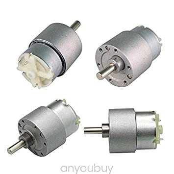 DC 12V 3.5RPM Slow Speed Reducer Metal Gearbox Turbo Worm Gear Motor High Torque