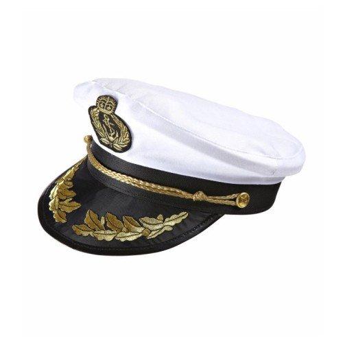 Kapitän Mütze Kapitänsmütze Kreuzfahrt Schiff Seemann Captain Käpt'n Cappello