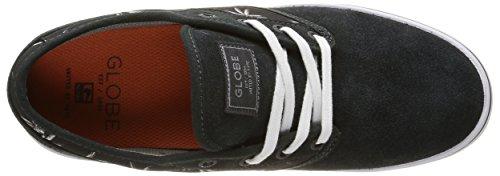 Globe Motley GBMOTLEY - Zapatillas de cuero unisex Negro - Schwarz (night/palms/orange)