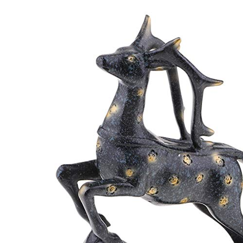 juler Botella de Vino Creativa Titular Animal Alce Resina Ciervos Estatua champán decoración