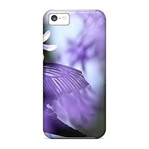 Waterdrop Snap-on Stained Glass Butterfly Case For Iphone 5c
