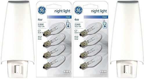 GE White Incandescent Lights Replacement