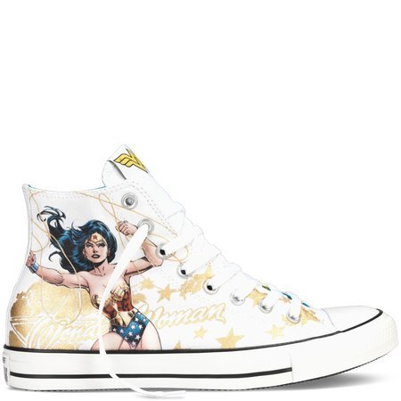 620634795fde Galleon - Converse All Star Hi Wonder Woman Sneaker CT HI SHOES DC COMICS  (5 Men Women 7)
