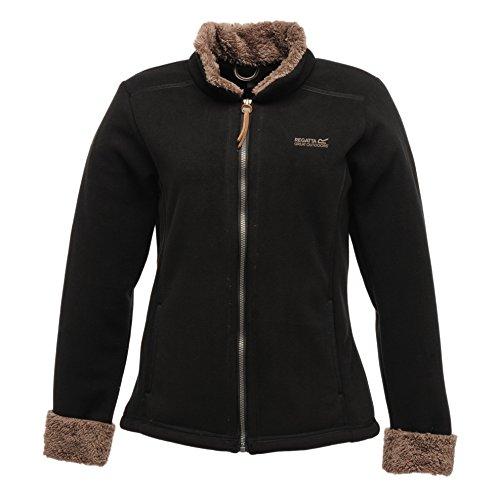 Regatta Women's Warm Spirit Fleece Black/Coconut