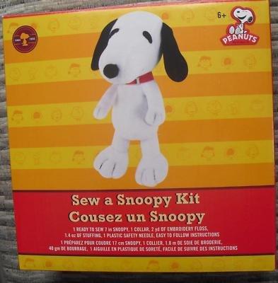 Sew A Snoopy Kit by Peanuts