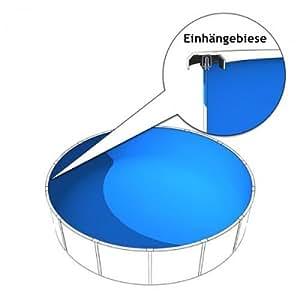 Poolzon Repuesto Pantalla 3,50hasta 3,60x 1,20m en 0,8mm con ribete