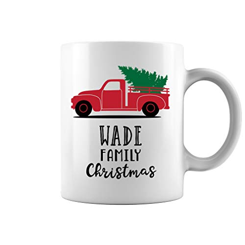 Wade Family Christmas Truck Ornament Ceramic Coffee for sale  Delivered anywhere in USA