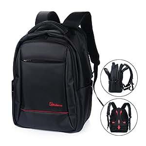 Amazon Com Laptop Backpack Vitalismo Anti Theft Water