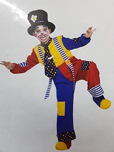 Fancy Magic Costume Pagliaccio 53610 - Anni 5 6