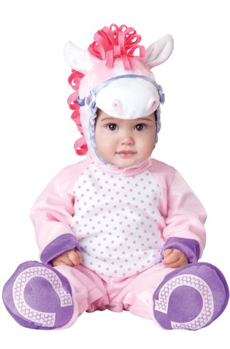 InCharacter Pretty Lil' Pony Infant/Toddler Costume-Large (18-2T) Pink