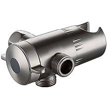 KES PTS-J11-B-2 Handheld Shower and Shower Head Shower Arm 3-Way Diverter, Brushed Nickel