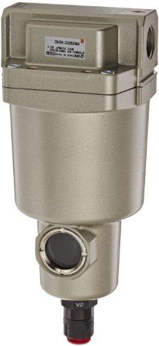 SMC AMG350C-N04D Water Separator, N.O. Auto Drain, 1,500 L/min, 1/2'' NPT by SMC Corporation