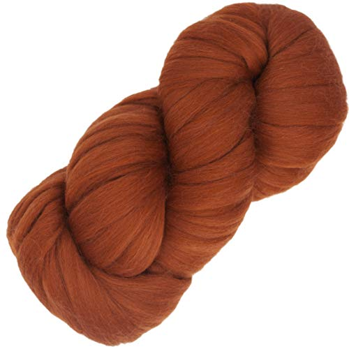 Living Dreams Air Merino Super Bulky Chunky Wool Yarn. Thick Pencil Roving Yarn for Needle Knitting and Crochet. Made in USA, - Chunky Merino Yarn