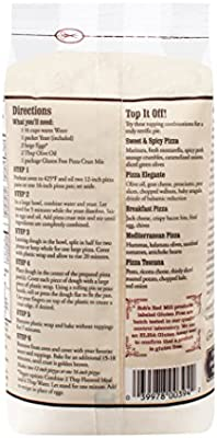Bobs Red Mill Gluten Free Pizza Crust Mix, 16-ounce (Pack ...