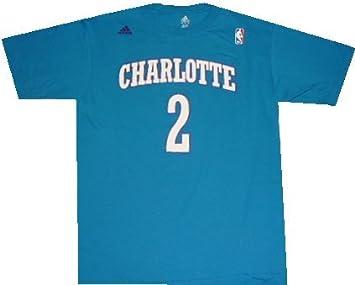 Amazon.com : Charlotte Hornets Larry Johnson 1992 Adidas Throwback ...