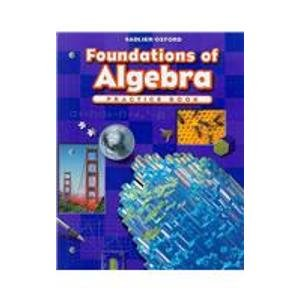 Foundations of Algebra Practice Book (Progress in Mathematics)