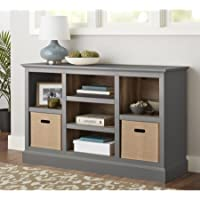 Better Homes and Gardens Dover Console/Bookcase (Gray)