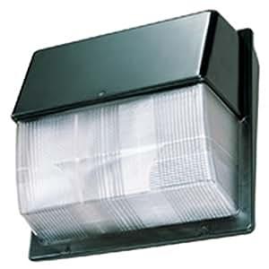 Lithonia Lighting TWP LED 10C 50K 26-Watt 5000K LED Wallpack with Polycarbonate Lens, Bronze
