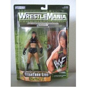 (Wrestlemania 2000 Series 3 Titan Tron Live > Chyna Action Figure)