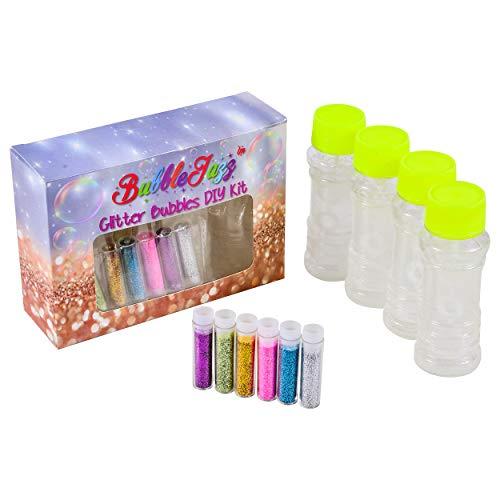 BubbleJazz Glitter Bubbles DIY Kit