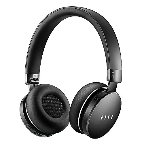 FIIL Active Noise Cancelling Headphones, Wireless Headphones Over Ear, 33hrs Playtime, Authentic Sound, Touch Control, Smart Play/Pause, 4 Modes Ambient Filter, Bluetooth Headphones for Travel/Work