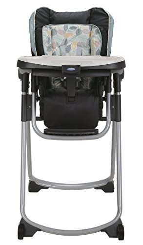 Graco Slim Spaces Folding High Chair, Trail by Graco (Image #1)