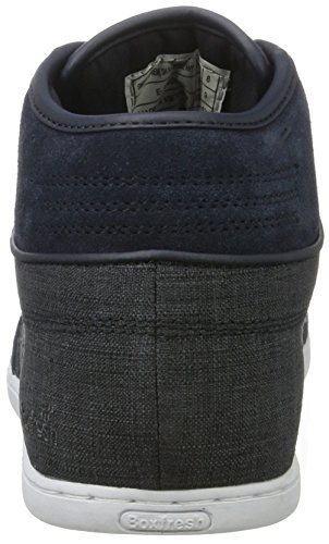Boxfresh Swapp 3 (Prem) Sh Slub/Sde Nvy, Sneaker a Collo Alto Uomo Blu (Blu)
