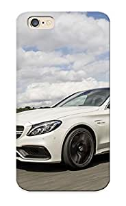 Beautifulcase AppleRound Anti-scratch And Shatterproof Mercedes Amg C63 2015 Sedan Cars cell phone case cover For Iphone 6/ High Quality Tpu FA67mHDHt2p case cover