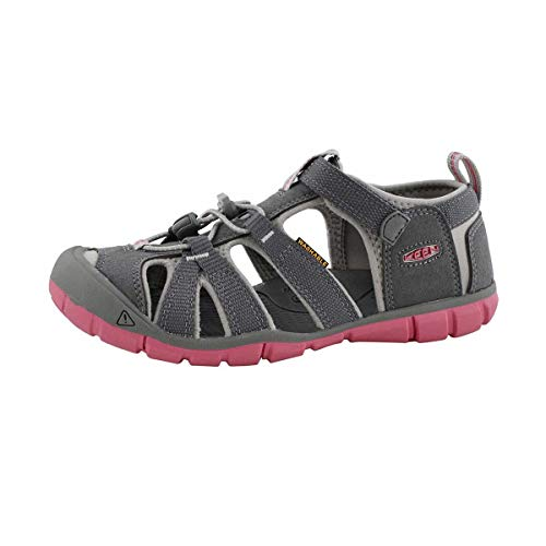 KEEN Youth Seacamp II CNX, Steel Grey/Rapture Rose, 2 M US