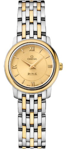 Omega Deville Prestige Quartz Ladies Watch 424.20.24.60.0...