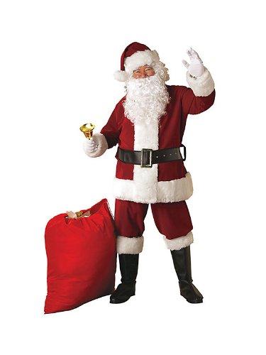 Rubie's Crimson Regency Plush Santa Suit