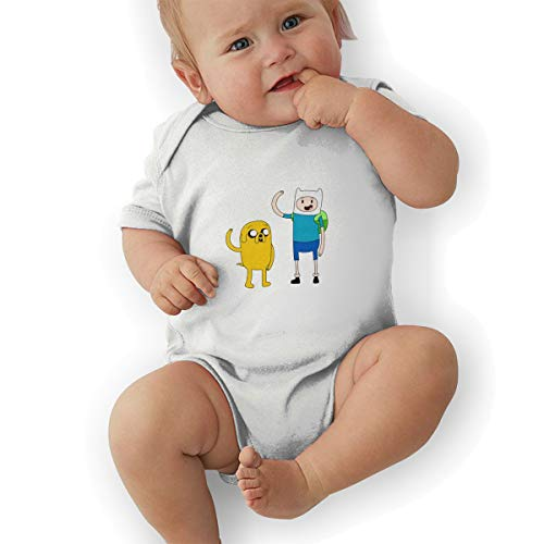 Baby Girl Bodysuit, Adventure Time Baby Boys' Cotton Bodysuit Baby Clothes -