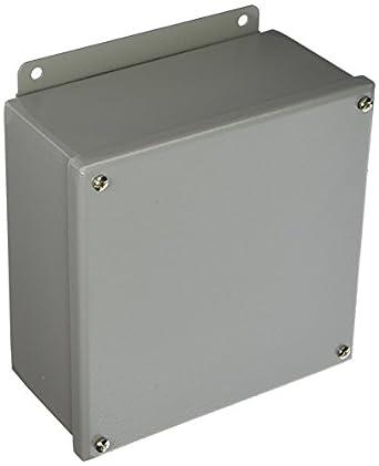 Wiegmann b080804sc NEMA 12 JIC caja para tornillos, acero, ...