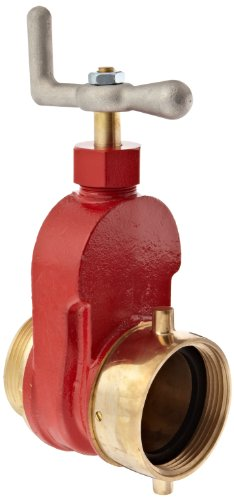 Dixon Valve & Coupling HGV250F Brass Single Hydrant Gate Valve, 2-1/2