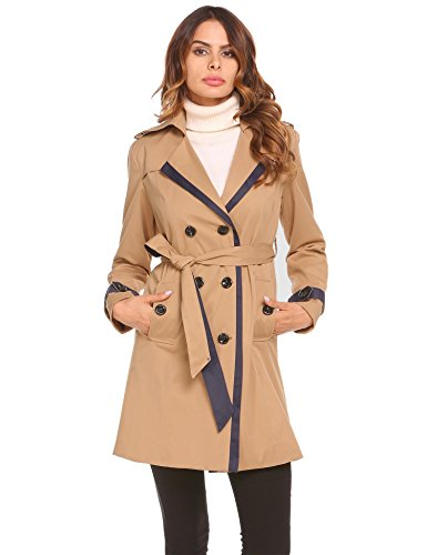 Brown Belted Trench - 2