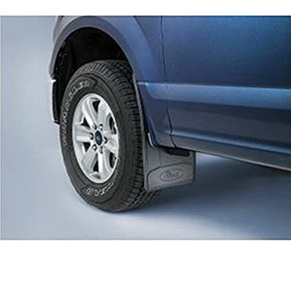 F150 Mud Flaps >> Amazon Com 2005 2016 Ford F 150 Flat Mud Flaps Black Splash