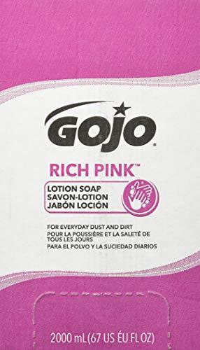- GOJ7220 - Gojo Rich Pink Antibacterial Lotion Soap Refill