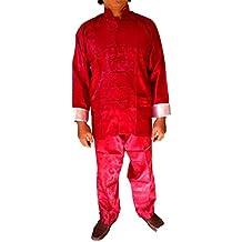 Asia China Kung Fu Tai Chi Suit Sport Uniform 100% Silk