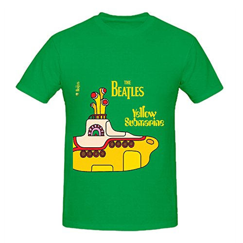 the-beatles-yellow-submarine-soul-album-cover-men-crew-neck-big-tall-tee-shirts-green
