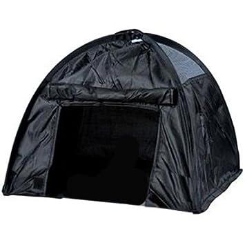 takestop Cortina de acampada Perros Gatos Caseta animales casa de viaje plegable negro apertura Pop Up camping igloo Camping Mosquitera Bolsa Transporte ...