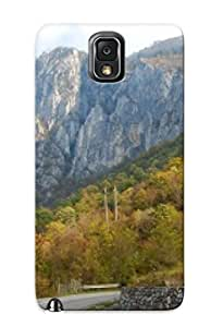 New Arrival Autumn Premium Galaxy Note 3 Case Cover With Trees Appearance (national Park Domogled, Valea Cernei )