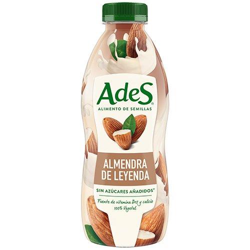 AdeS - Almendra de Leyenda con vitamina B12 y calcio, Bebida Vegetal, 800 ml, Botella de plástico: Amazon.es: Alimentación y bebidas