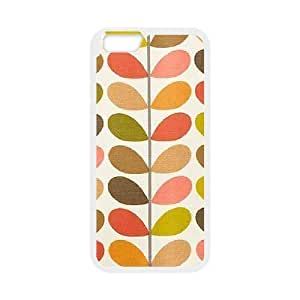 Custom Orla Kiely Folio Back case ,TPU Phone case for iphone6 plus 5.5 inch,white